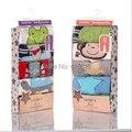 Бесплатная доставка 100% хлопок мультфильм модели Летние 0-2 лет ребенок полная длина детские брюки хлопок вышивка брюки тонкие 5 шт./лот