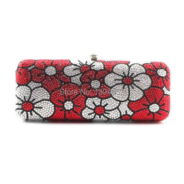 все цены на Delicate Handmade Ladies Crystal Evening Handbag