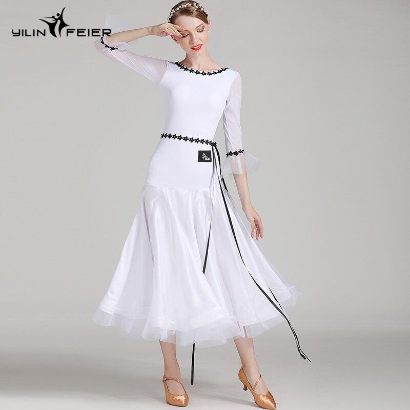 New Ballroom Dance Competition Dress Dance Ballroom Waltz Dresses Standard Dance Dress Women Ballroom Dress S7006