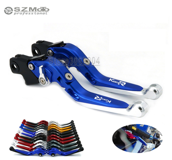 For BMW K1300R K1300 R 2008-2012 2011 Motorcycle Accessories Folding Extendable Adjustable Brakes Clutch Levers With LOGO CNC