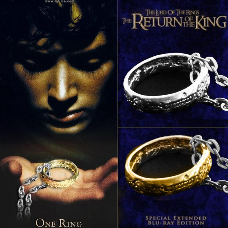 product The Lord of the ringer gold ringer The European and American film and television the ring ring adorn article