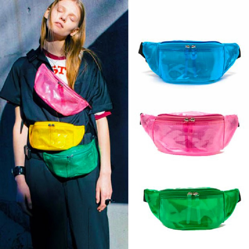 2018 Designer Waist Bag Women Pvc Belt Bag Fashion Fanny -4474