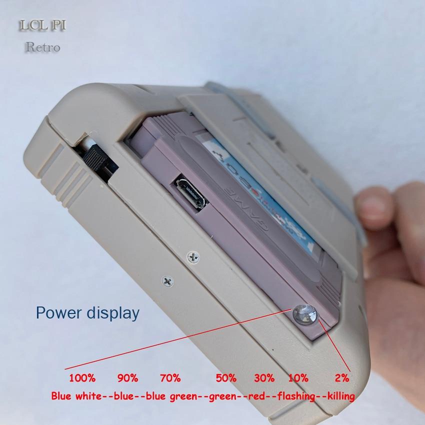 Portátil retro mini handheld game console 4.3 Polegada 64bit 3000 jogos de vídeo clássico família game console presente retro arcade - 4