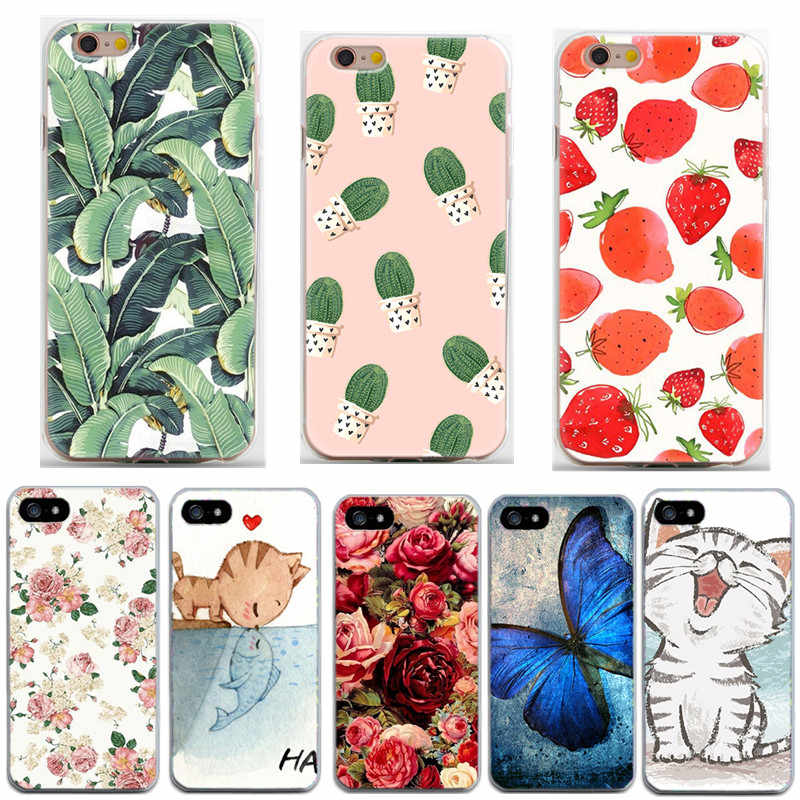 Fashion Soft TPU Silicone case sFor Coque Apple iphone 6s case For iphone 6 6 S 7 8 Plus X 10 XS 5S SE 5 Case Cover Phone Cases