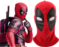 Full Head Flexible Deadpool Wade Winston Wilson Superhero Cosplay Mask Party Halloween for Adult Unisex