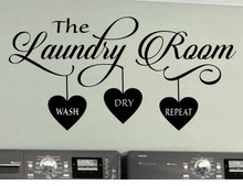 Laundry room vinyl wall decal laundry logo ,Wash, Dry, Repeat, wall sticker detachable decorative wallpaper XY08 standard tooth teaching giant dental dentist teeth model child kidtraining model disease teeth medical model