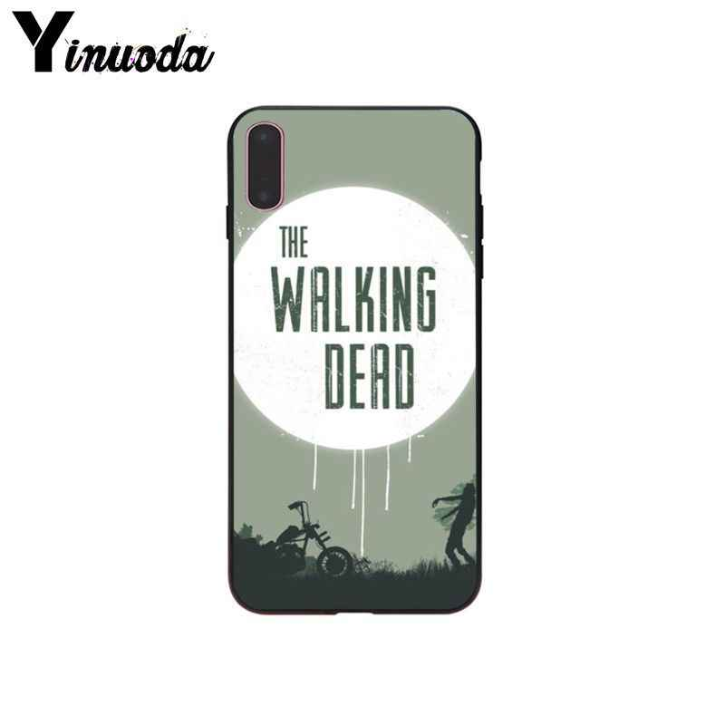 Yinuoda Die walking dead Drop Widerstand Smartphone Fall für Apple iPhone 5 5 s SE 6 7 8 X XS MAX XR Mobile Abdeckung