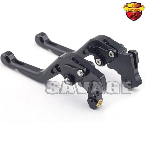 ФОТО For DUCATI MONSTER 821 HYPERMOTARD 821 / Strada 14-15 Black Motorcycle Accessories CNC Aluminum Short Brake Clutch Levers