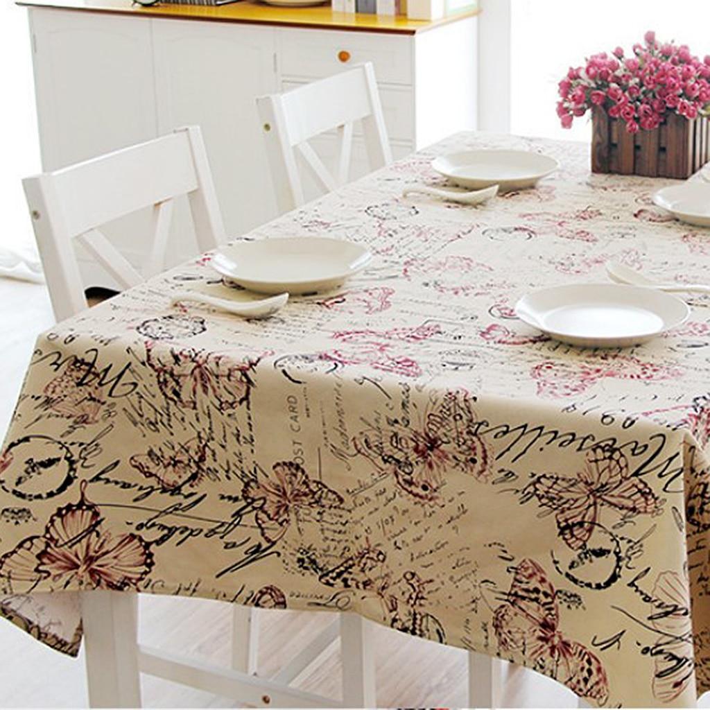 60*60cm 120*120cm 145*220cm 145*200cm Vintage Tablecloth British Style  Square Floral Table Cover Decorations Kitchen Accessories