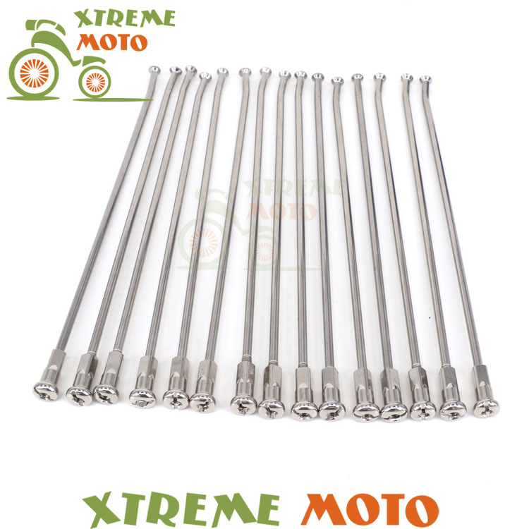 Stainless Steel 19 Rear Wheel Spokes Nipples For KTM EXC EXCF XC XCF XCW XCFW SX SXF MX MXC SMR 125 250 300 350 400 450 500 orange 120l chain front rear sprockets set for ktm exc excf sx sxf sxs xc xcw xcf xcfw mx mxc lc4 smr six days motocross enduro