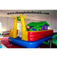 Inflatable bouncer catle Kids Fun City For Sale inflatable slide