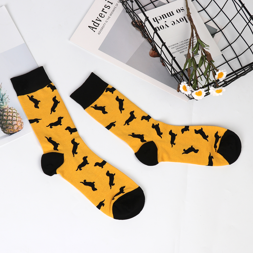 Underwear & Sleepwears Pop Fashion Men Novelty Seafood Pattern Socks Hip Hop Hosiery Soft Cotton Cartoon Plant Unisex Skateboard Socks Long Warm Dress Be Novel In Design