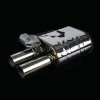 Valve Mufflers Sets Exhaust Cutout Valve 63mm Stainless Steel Electric Valve Sounds Mufflers Remote Control Sounds