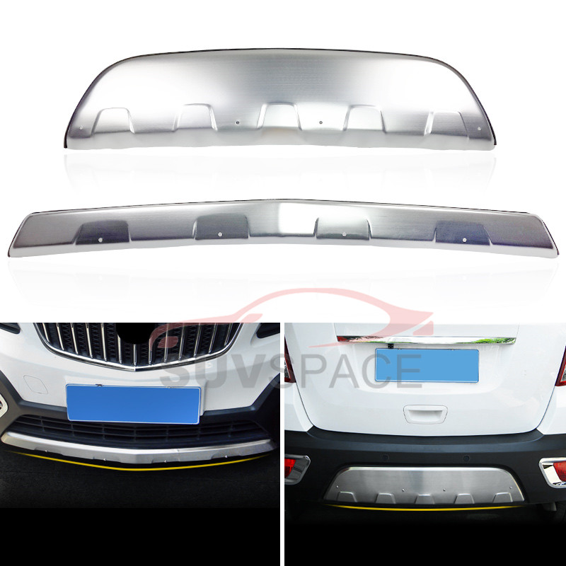 Aluminium bumper board guard skid plate nerf bar Suitable for Vauxhall BUICK Encore OPEL Mokka 2012 2013 2014 2015