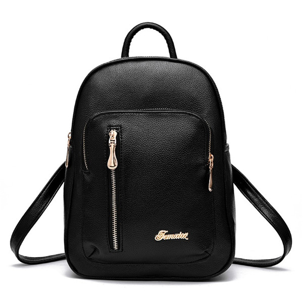 New Women Bag Backpack Casual School Bags Lady Solid Women Travel Bags High Quality Leather Backpacks Bolsos For Teenage Girls high quality pu leather backpack women bag fashion solid backpacks school bags famous brand travel backpack 2017 new shell bags