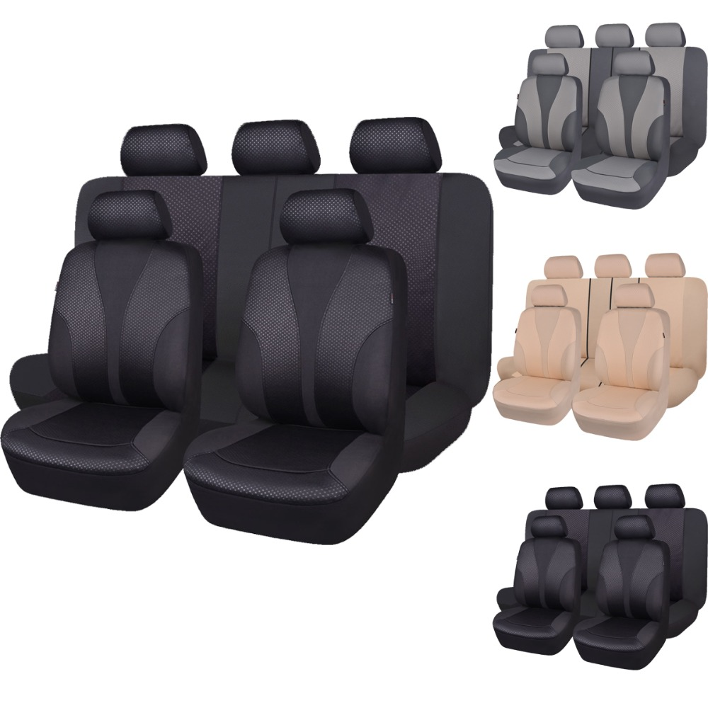 Image 3 - Auto pass Polyester Car Seat Covers Universal 4 Color Seat Covers Cushion Interior Accessories For Volkswagen mazda cx 5 lada-in Automobiles Seat Covers from Automobiles & Motorcycles