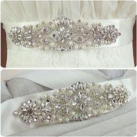 Recommend brief brilliant cz diamond pearl decorated wedding belt bridal belt formal dress belt 912.jpg 200x200