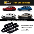 Free shipping Side Door Body Molding Trim Cover 6pcs SIDE MOULDING COVER FOR PORSCHE MACAN 2014 up