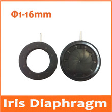 Buy 1-16mm Amplifying Diameter Zoom Optical Iris Diaphragm Aperture Condenser with 10 Blades for Digital Camera Microscope Adapter
