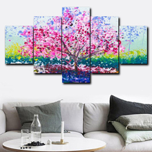 Laeacco Calligraphy Painting Natural Landscape Canvas Wall Artwork Posters and Prints Home Decor Bedroom Living Room Decoration