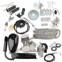 80cc 2 велосипедный мотоцикл комплект бензинового двигателя для DIY электрический велосипед горный велосипед полный комплект велосипед газов...
