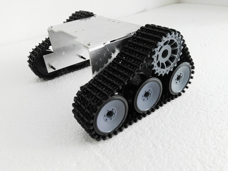 Metal Robot Tank Car Chassis For Arduino Track Off Road Vehicle Wall E Tank Car Test
