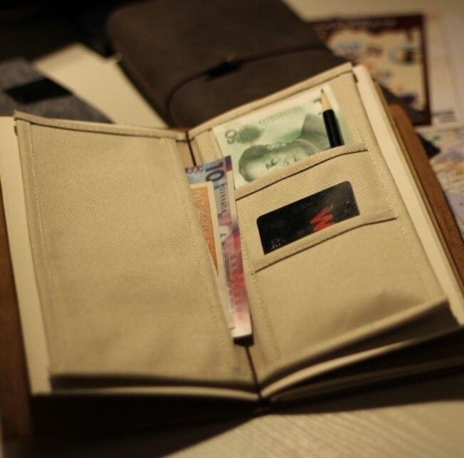 Путешественники путешественников дневник блокнот ноутбук хранения ткани оксфорд получение держатель 2040902