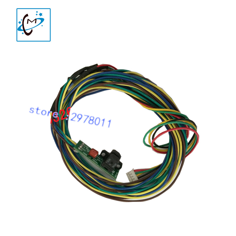 1pcs/lot Mutoh piezo photo printer VJ-1604 PF  1304PF decoder encoder raster sensor шуруповерты bort дрель шуруповерт аккумуляторная bort bab 18ux2 dk