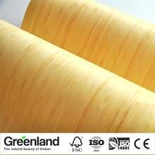 Bamboo Veneer Flooring DIY Furniture Raw Natural Material Chair Cabinet Doors Outer Skin Size 250x42 cm Natural Vertical Veneer