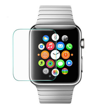 100 PCS 9H 0.26mm Premium Explosion Proof Tempered Glass Screen Protector For For New Apple Watch 40mm 44mm 38mm 42mm