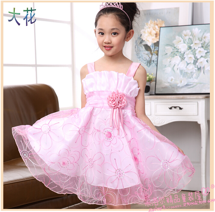 Free Shipping Girls Wedding Party Dresses Cheap,7 Color Infant ...