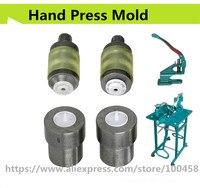 Пластиковые кнопки для ручной установки пресс-формы для ручного прессования зеленая машина T3, T5 T8 1 см, 1,2 см 1,5 см Бесплатная доставка