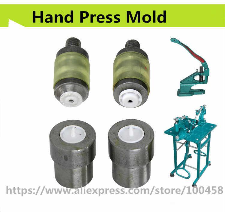 Plastik Snap Tombol Mati Mesin Manual Menginstal Alat Mold untuk Tangan Tekan Hijau T3, T5 T8 1 cm, 1,2 cm 1.5 cm Gratis pengiriman
