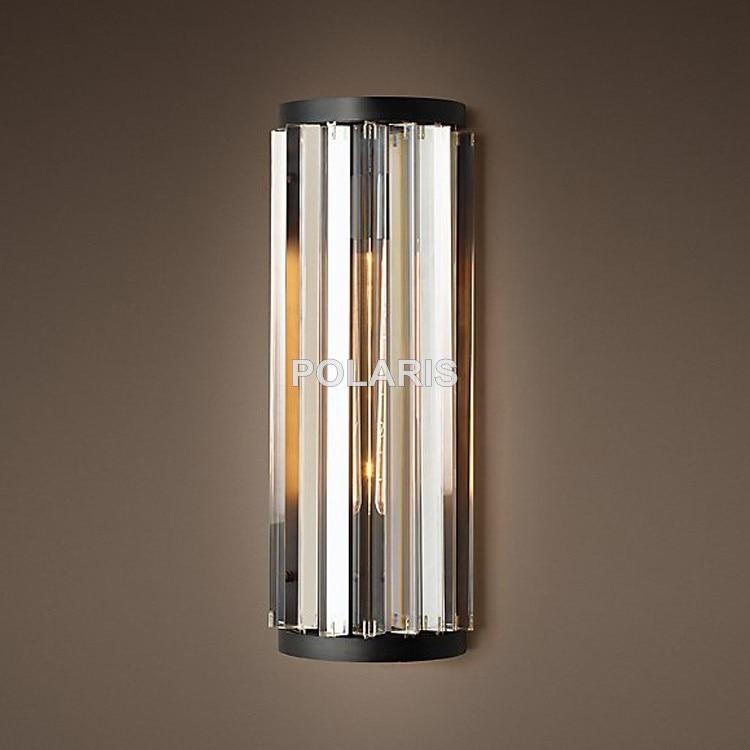 vintage k9 lustre cristal arandela lâmpada luz