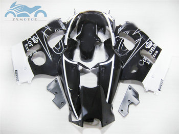Free Custom ABS fairings kit for SUZUKI GSXR750 GSXR 600 1996-2000 SRAD sport fairing kits GSXR600 96-00 black corona bodyworks
