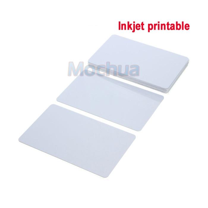 20pcs/lot Ntag215 Inkjet Printable Card Ntag 215 Cards For Espon Printer, Canon Printer