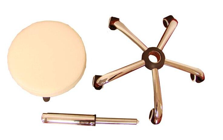 Massaggio di rotolamento sedia sgabello pedicure portatile per salan