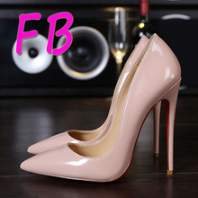 9ae76ca6634 Red Bottom High Heels Ladies Designer Shoes Women Kate 8cm 12cm 10cm Patent  Leather