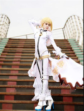 55c341877b4 Fate EXTRA CCC Nero Saber Cosplay Costume Wedding Dress Bridal Wear White  Jumpsuits Full Sets Anime Clothes onesies for adults A