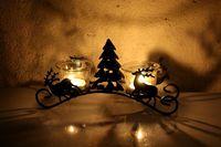 Lámpara de Huracán de Hierro Forjado Vela Día de San Valentín de Regalo de navidad Artículos Decorativos Mobiliario Alces de Navidad De Vela De Cristal Titular