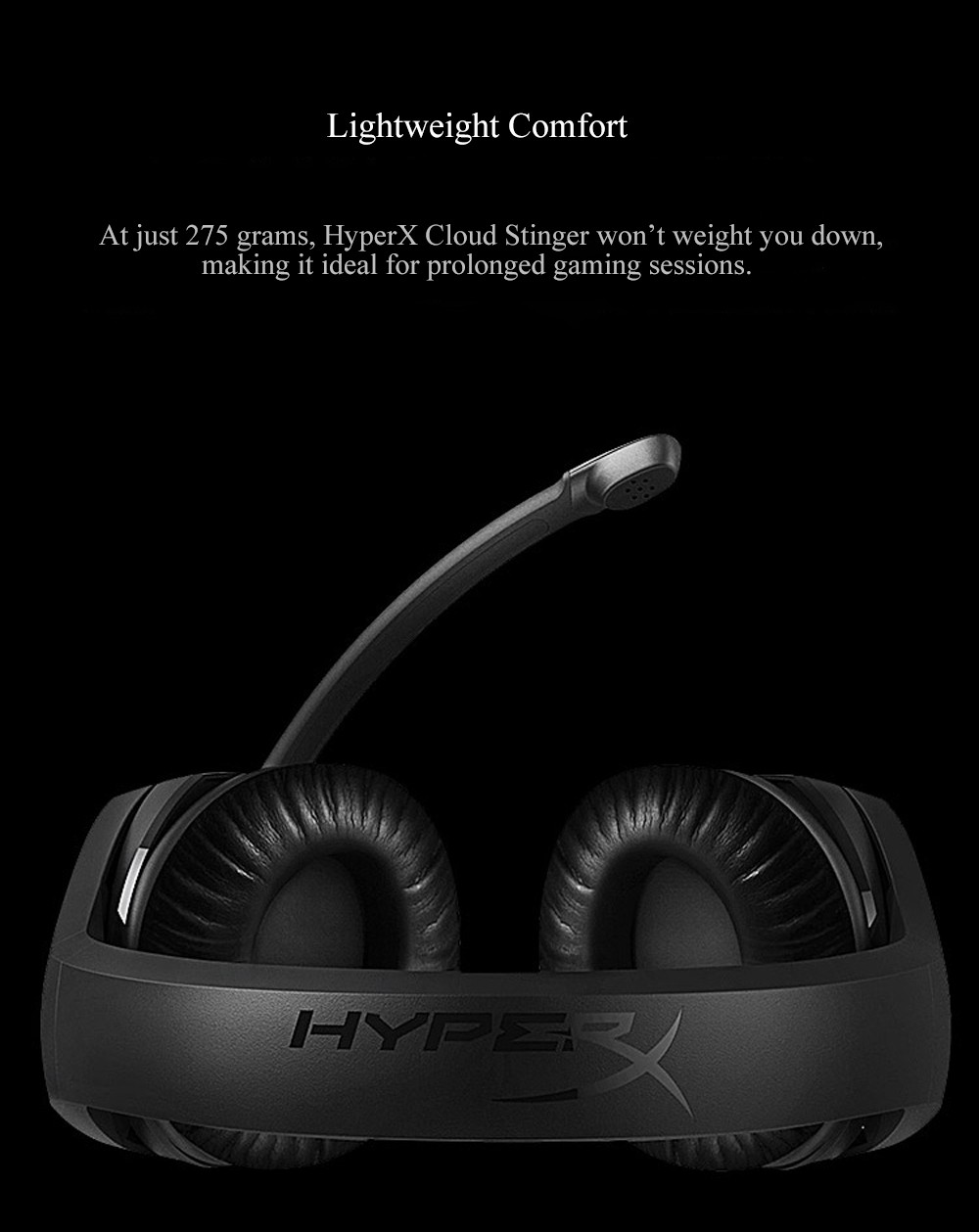 Kingston HyperX Cloud Stinger Auriculares Headphone Steelseries Gaming Headset with Microphone Mic For PC PS4 Xbox Mobile Device (4)