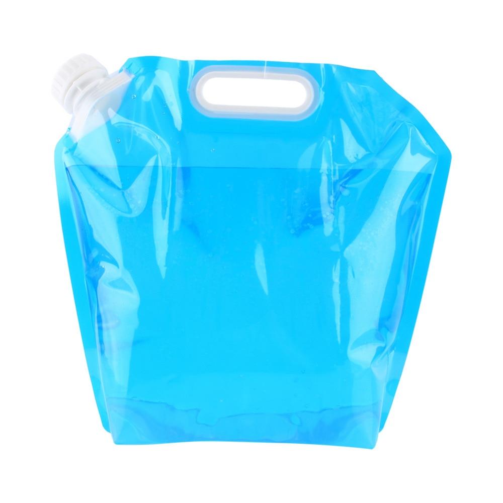 Sporting Goods The Best 10l Pe Plastic Folding Drinking Water Bucket Retractable Transparent Bucket Sw
