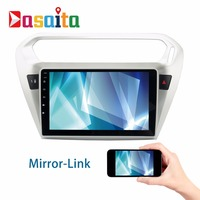 Android 6 0 2Din Car GPS Player Navi For Peugeot 301 Elysee With 9 Octa Core