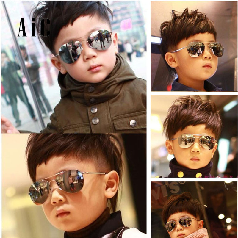 أزياء النظارات الشمسية للأطفال ، بنين فتاة Piolt نمط الأطفال نظارات راي الأشعة فوق البنفسجية حماية الطفل نظارات الشمس oculos دي سول Gafas oculos