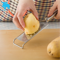 M Fun Tu Fang Crell Stainless Steel Wire Planer Fine Square Hole Potato Silk Grater Grater