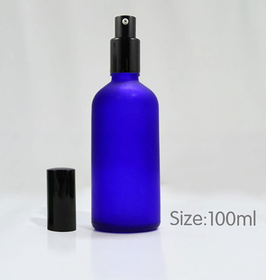 Free shipping high quality 100ml matte glass bottle wholesale 4 color high-grade emulsion bottle 10pcs/lot glass jar free shipping wholesale price 30m a lot high quality l amy green matte vinyl car wrap film car sticker with bubble free bw 9013