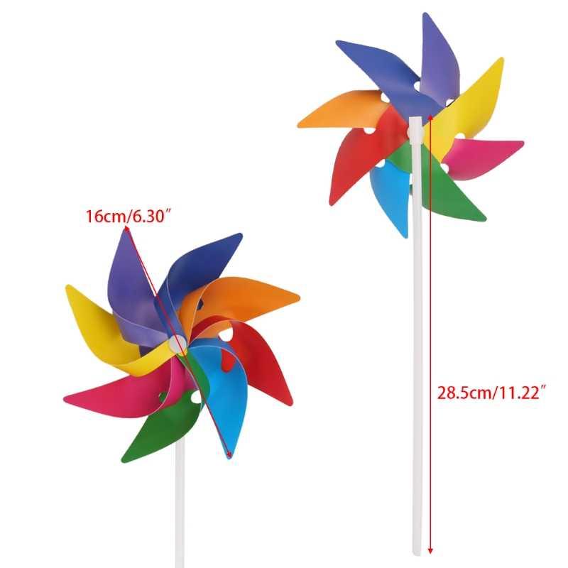 Garden Yard Party Camping wiatraczek wiatraczek ozdoba ozdoba zabawka dla dzieci nowy JUN-5A