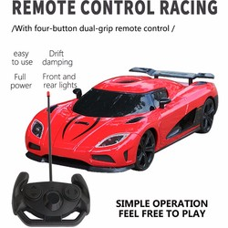 Super sports car model electric remote control toy drift rc car kids holiday gift