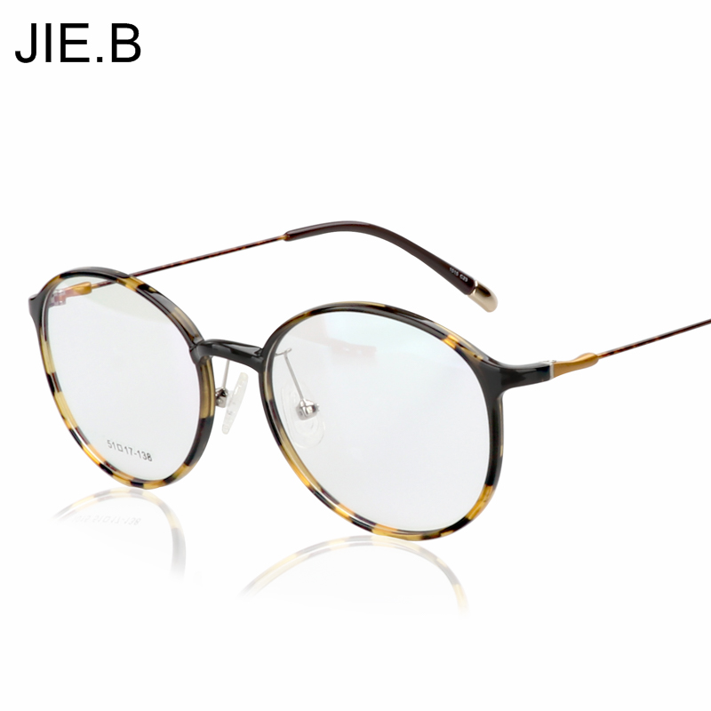 2017 висококачествен волфрамов титанов очила рамка мъже Ultem кръгли очила рамка жена компютърни очила с рецепта Очила