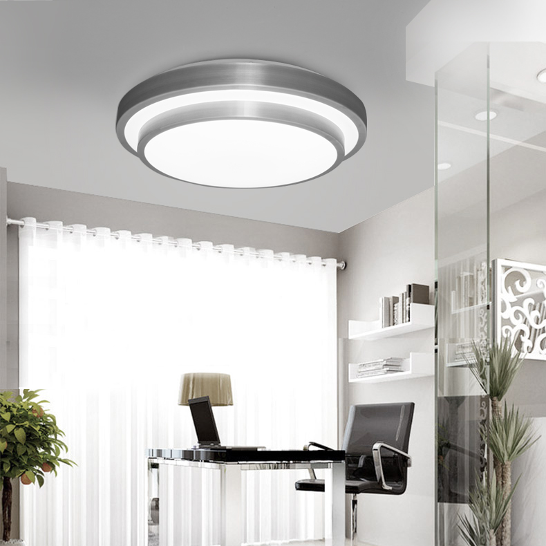 venta caliente moderno llev las luces de techo de cocina blacony plafon led luminarias de luz para sala de jantar blanco s